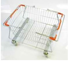 Подставка для корзин на колесах