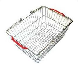 Покупательская металлическая корзина 10 л 355×250×170