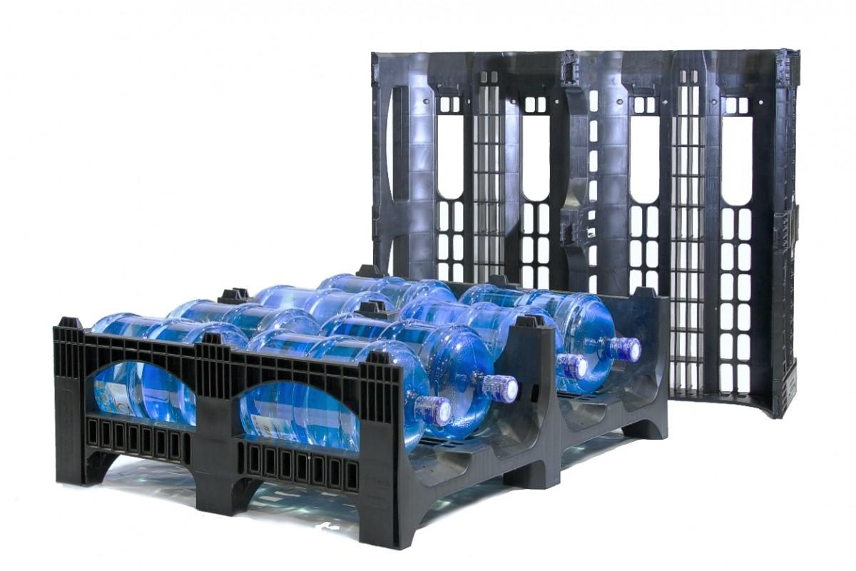 Полимерный поддон для воды BottleRack 02.107.C8 (1200х100х380)