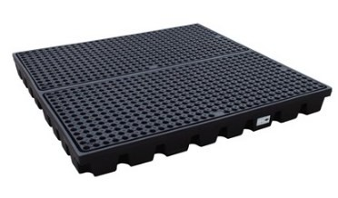 Низкопрофильный пластиковый поддон Workfloor с решеткой